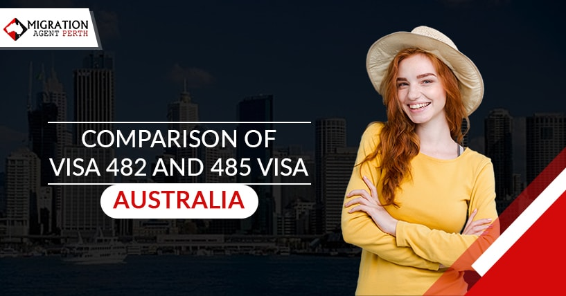 Comparison of Visa Subclass 482 and Visa Subclass 485 Australia